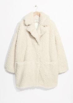 & Other Stories | Faux Fur Cocoon Coat