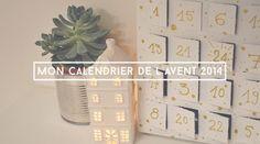DIY // Mon calendrier de l'avent 2014