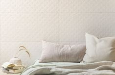 8 Cheap Things to Maximize a Small Bedroom tags: Bedroom Inspo, Bedroom Decor, Tile Showroom, Feature Tiles, Ceramic Wall Tiles, Wall And Floor Tiles, White Tiles, Decorative Pillows, Bed Pillows