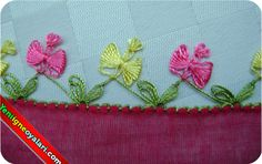 İğne Oyası Nedir? cicekli igne oyalari 600x378 Embroidery Stitches, Hand Embroidery, Needle Lace, Lace Patterns, Lace Design, Needlework, Diy And Crafts, Coin Purse, Pillows
