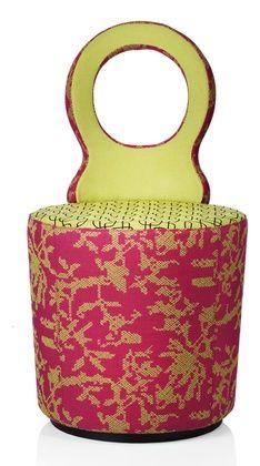 eye  l chair cum pouf by Johanson Design