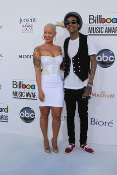 Wiz Khalifa and Amber Rose Photos - Celebs at the Billboard Music Awards - Zimbio