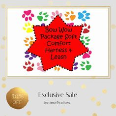 30% OFF on select products. Hurry, sale ending soon!  Check out our discounted products now: https://www.etsy.com/shop/katiesk9kollars?utm_source=Pinterest&utm_medium=Orangetwig_Marketing&utm_campaign=soft%2030