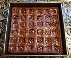 Easy treat for holiday gatherings - Snickers Brownies