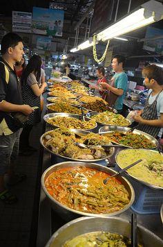 Food market . Chiang Mai Thailand