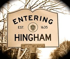 Hingham, MA was established in 1635