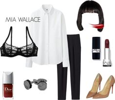 Mia Wallace X Last Minute Halloween Costume                                                                                                                                                     More
