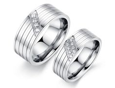 Cincin couple stainless steel - ICCR1502 #couplering #couple #ring #love #anniversary