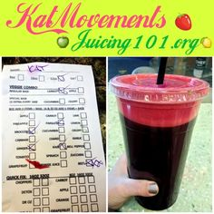 Juicing Vegetables & Fruit For my last meal tonight I had a 32 oz pure organic veggie juice with carrots, extra beets, kale, ginger, parsley, and broccoli! ❤I love how I feel and think when I eat clean! ❤ ⭐TO EXCEPTIONAL LOVE AND HEALTH!⭐ Kat =^.^= www.facebook.com/...