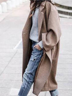 Women Long Outerwear Warm Fashion Coat – Picolamo