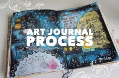 Here is the process of my third art journal page! ****************************************­*************************** E M A I L: johanna.clough@outlook.com ...