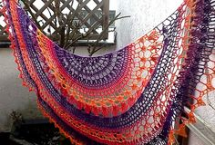 Ravelry: ctarski's This and That Shawl