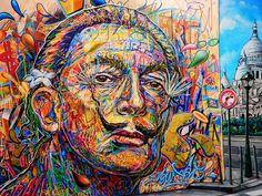 STREET ART at ESPACE DALI ~ SALVADOR DALI and GUESTS