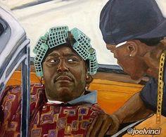 """Big Worm"" by 🐛 Dope Cartoon Art, Dope Cartoons, Black Cartoon, Arte Hip Hop, Hip Hop Art, Trill Art, Rapper Art, Black Art Pictures, Black Love Art"