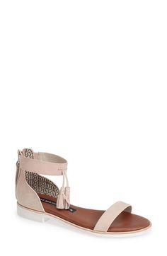 Matt+Bernson+'Dusk'+Tassel+Ankle+Strap+Sandal+(Women)+available+at+#Nordstrom