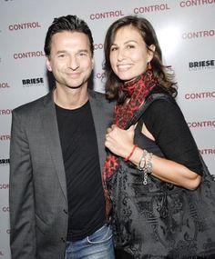 Dave Gahan and wife, Jennifer Sklias