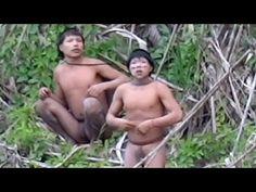 Primul contact cu un trib izolat din Amazonia – Dezvaluiri Biz