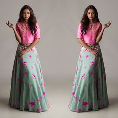 5fe5cf58cfd Want this amazing crop top lehnga set? Get your designer wear from http:/