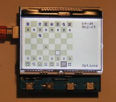 chess - dogm128 - Little Rook Chess - Library for the Dogm-Graphics-LCD modules (AVR, Arduino compatible). - Google Project Hosting