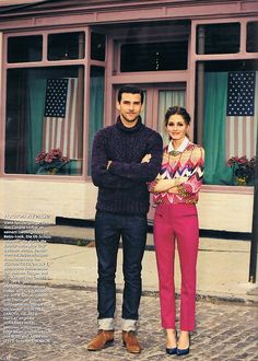 "infinite-fash-cination: Magazine: Instyle Germany, September 2012Models: Olivia Palermo and Johannes HueblTopic: ""New York city style""Pictures: Max von Treu i love her outfit!"