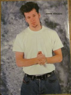 New Kids on the Block, Donnie Wahlberg, Full Page Vintage Pinup