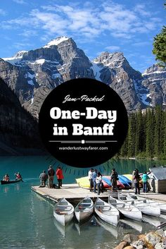 Have only 1 day to spend in Banff? Use this itinerary to see all the must-see sights.