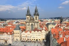 Prague, Czech Republic - Dec 2012, Aug 2011, May 1998