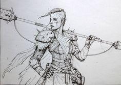 fan art of DEGENESIS by Sixmorevodka.