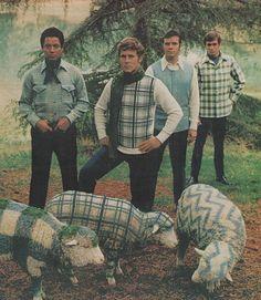 Los hombres de los años 70.