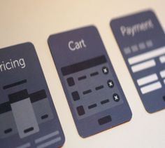Pricing, Cart and Payment UX Cards Ux Wireframe, Cart, Website, Covered Wagon, Strollers