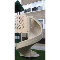 Spiral Slide for Recycled System Playground Slides, Spiral, Ideas, Home, House, Homes, Thoughts, Haus, Houses