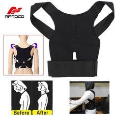 調整可能な姿勢コレクター中括弧は、バックベルトサポートコルセットバック腰椎肩コレクターデpostura黒黄
