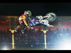 Red Bull X-Fighters Madrid 2014: Motorbike Flip