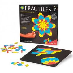 Travel Fractiles-7 Magnetic Mosaic Tiles Toy - Educational Toys Planet. Great gift for 6 years old child. This Fractiles magnetic mosaic set for kids brings out your imagination, develops your children's mathematical skills, and improves their concentration abilities. Develops Skills - creativity, design skills, manipulative skills, concentration. #toys #learning #educational #gifts #child https://www.educationaltoysplanet.com/travel-fractiles-7-magnetic-mosaic-tiles-toy.html