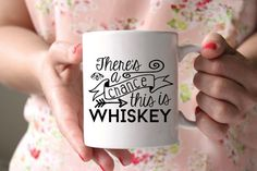 New to SipHipHooray on Etsy: There May Be Whiskey In Here Mug - There's a Chance this is Whiskey - Whiskey Gift - Funny Coffee Mug - Stocking Stuffer Mug - Whiskey Cup (19.99 USD)