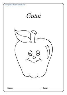Fructe - Planse de colorat si educative Gerbil, English Idioms, Anaconda, Chinchilla, Blogging, Snoopy, Fictional Characters, Decor, Chinchillas