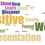 Positive Presentation Words