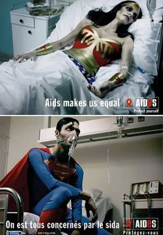 Who knew your favorite superhero has been taken down by a terrible virus, which is easily avoided. But it is weird seeing superman being weakened from something not by kryptonite.