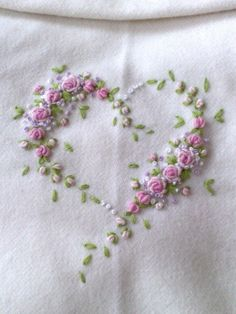 delicate embroidery by adriana.tomim i need this!