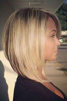 krótkie fryzury 21 Chic Medium Bob Hairstyles for Women - Mob Haircuts Thin Hair Haircuts, Medium Bob Hairstyles, Round Face Haircuts, Straight Hairstyles, Cool Hairstyles, Hairstyle Ideas, Style Hairstyle, Braid Hairstyles, Elegant Hairstyles