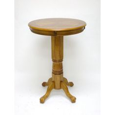 Florence Pub Table in Fruitwood