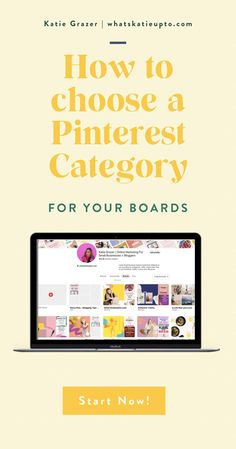 Pinterest Categories are actually relevant for the Pinterest Algorithm and can help you grow your Blog Subscriber and grow your Blog Traffic. This is an easy hack and great blogging tips you can implement today to make your Pinterest category and Pinterest Boards rank higher. Give Pinterest the information they need to understand your pins. #pinterestmarketing #pinterestips #pinterestalgorithm #bloggingtips Small Business Marketing, Business Tips, Pinterest Categories, Pinterest For Business, Work From Home Moms, Instagram Tips, Board Ideas, Pinterest Board, Pinterest Marketing
