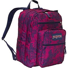 JanSport Grey w/pink flower print | Backpack | Pinterest | Grey ...