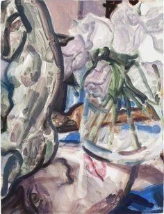 Elizabeth Peyton, Acteon, Justin Bieber and Grey Roses, 2011, Gagosian Gallery