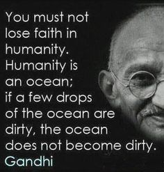 sorry, sometimes gandhi is necessary