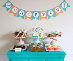 """Food Network's """"Chopped"""" Inspired Tween Party; cooking party for tween"""