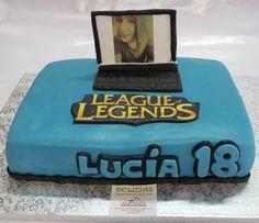 LOL o League of Legends. ¿Quieres sorprender a tu ser querido con una tarta en fondant con un diseño personalizado? ¡Llámanos al 616849394 y haremos que esa tarta sea su mejor regalo, tenemos el mejor precio de Málaga! www.depaulapasteleria.blogspot.com www.tarasalhaurin.blogspot.com www.tartasmalaga.blogspot.com www.facebook.com/tartasmalagadelizias www.tartasmalaga.net www.instagram.com/tartasmalaga