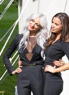 niallhorantheirish: Lou and Sophia at Jay and Dan's wedding - 20.07.2014 (x)