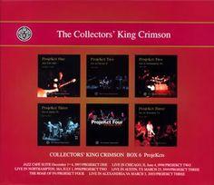 COLLECTORS' KING CRIMSON [BOX6] ProjeKct   キング・クリムゾン