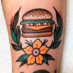 Hamberger tattoo